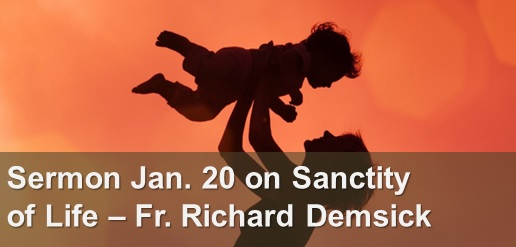 Sanctity of Life Sermon January 20