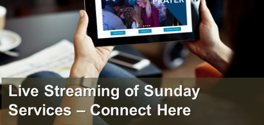 Live Streaming of Sunday Services