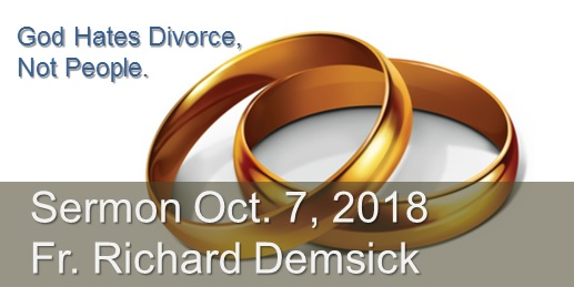 God Hates Divorce Sermon