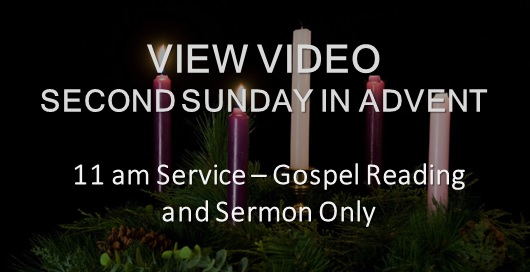Second Sunday in Advent Sermon